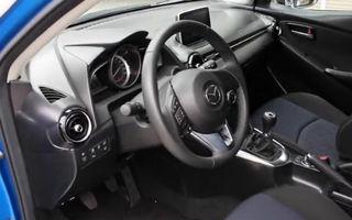 Noua Mazda2 - primele imagini cu interiorul modelului japonez