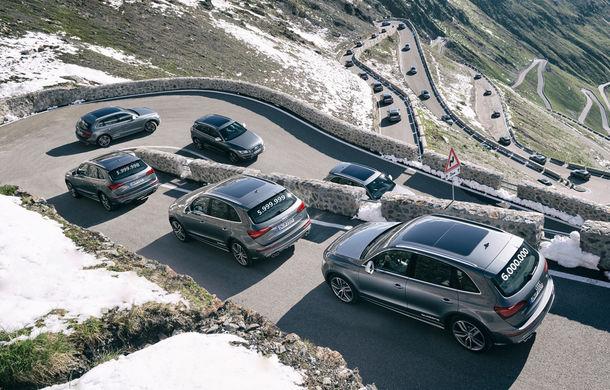 Audi sărbătoreşte 6.000.000 de maşini cu sistem de tracţiune integrală quattro - Poza 1