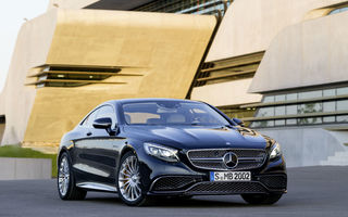 Mercedes-Benz S65 AMG Coupe: cel mai puternic model coupe din gama constructorului german