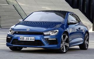 Volkswagen Scirocco R facelift: 280 CP şi 0-100 km/h în 5.5 secunde