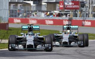 Mercedes insistă că nu se va implica în duelul dintre Hamilton şi Rosberg pentru titlu