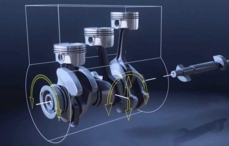 Downsizing-ul ar putea atinge un nou nivel: o companie testează motorul care poate funcţiona cu doar doi din trei cilindri - Poza 1