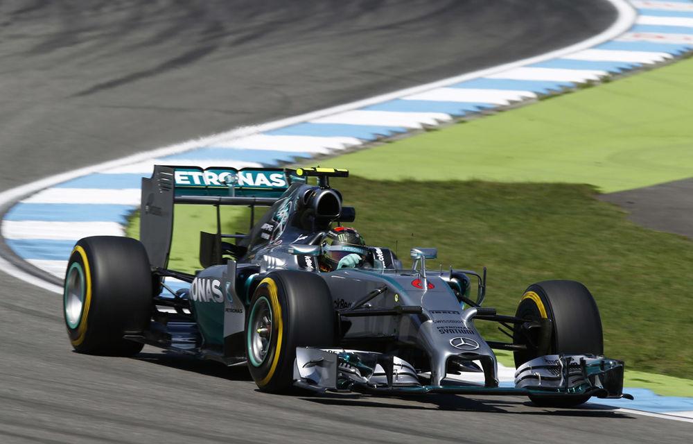 Rosberg a câştigat la Hockenheim. Hamilton pe trei, în spatele lui Bottas - Poza 1
