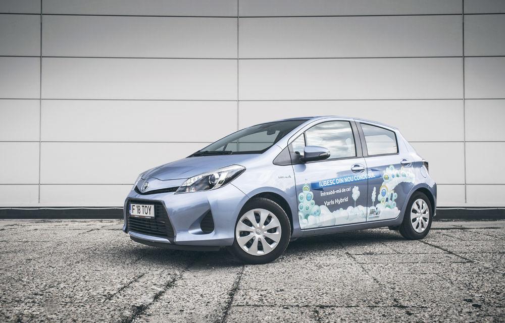Test drive Toyota Yaris Hybrid (2012-prezent)
