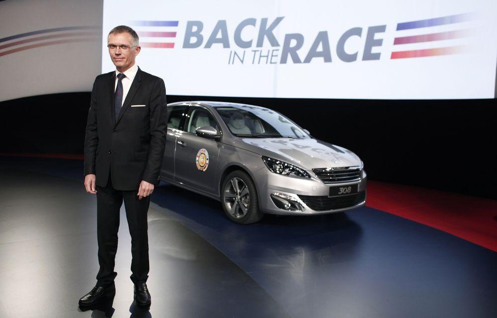 PSA Peugeot-Citroen a revenit la profit pentru prima oară după trei ani de pierderi - Poza 1