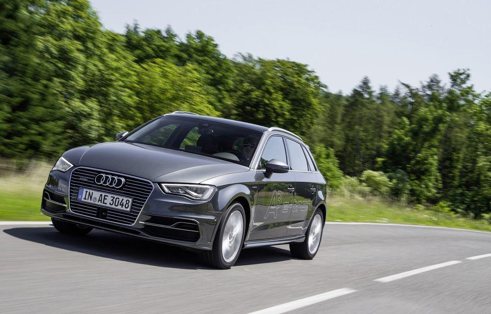 Audi A3 e-tron, primul hibrid plug-in al mărcii, a fost lansat în Europa - Poza 1