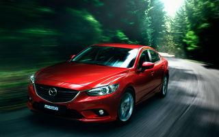 Mazda 6 devine şi mai eficientă în compania motorului diesel SkyActiv de 2.2 litri: 3.9 litri la sută consum mixt