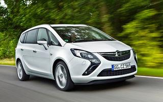 Opel Zafira Tourer primeşte o versiune 1.6 CDTI ecoFLEX