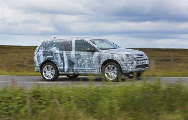 Land Rover Discovery Sport a parcurs 1.2 milioane de kilometri şi a trecut 11.000 de teste - Poza 9