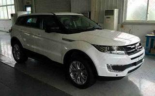 Chinezii au creat o copie grosolană după Range Rover Evoque: Landwind X7