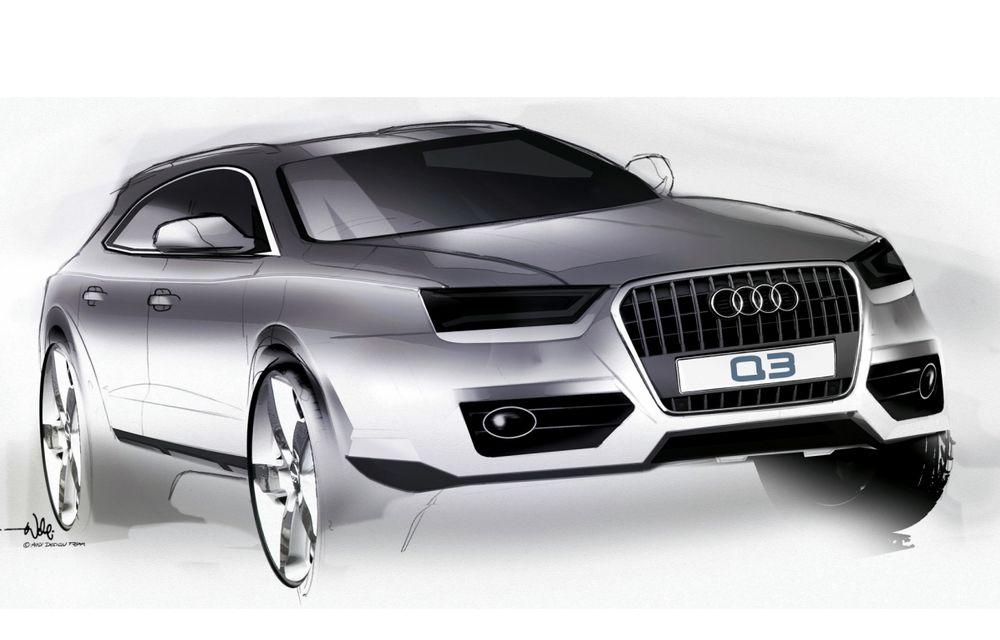 Audi Q3 va primi un facelift în 2015 - Poza 1