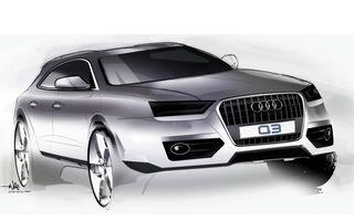 Audi Q3 va primi un facelift în 2015