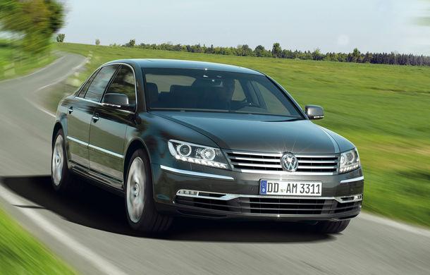 Volkswagen renunţă la Eos, dar plănuieşte o nouă generaţie Phaeton - Poza 1