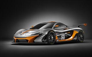 McLaren P1 GTR este varianta dedicată circuitului a supercarului britanic
