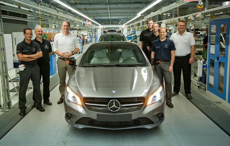 Ungaria creşte economic mulţumită producţiei ridicate a uzinelor Audi şi Mercedes-Benz - Poza 1