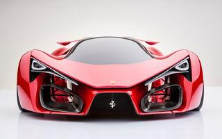 Ferrari F80: un supercar extrem imaginat de designerul Adriano Raeli