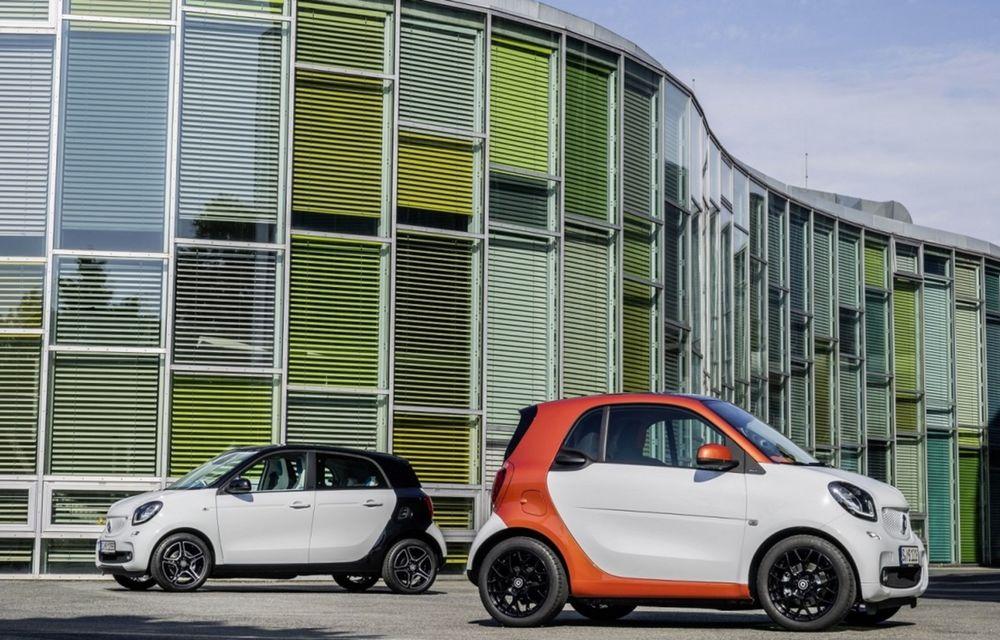 Preţuri Smart Fortwo şi Forfour în România: noul model mini porneşte de la 11.350 euro - Poza 1