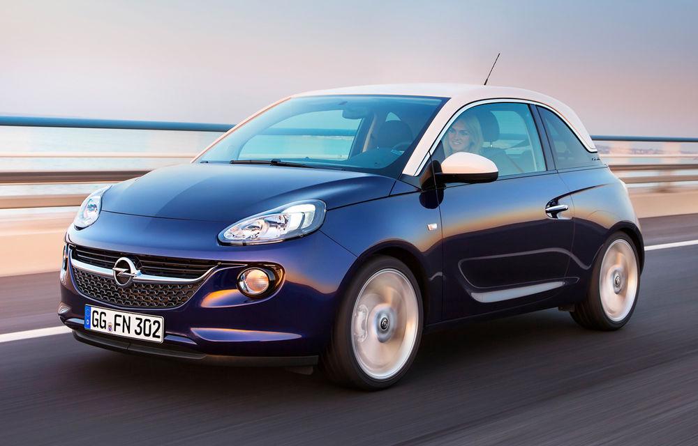 """Opel Adam a trecut de 100.000 de comenzi. Opel: """"Acest tip de maşină a lipsit de pe piaţă"""" - Poza 1"""