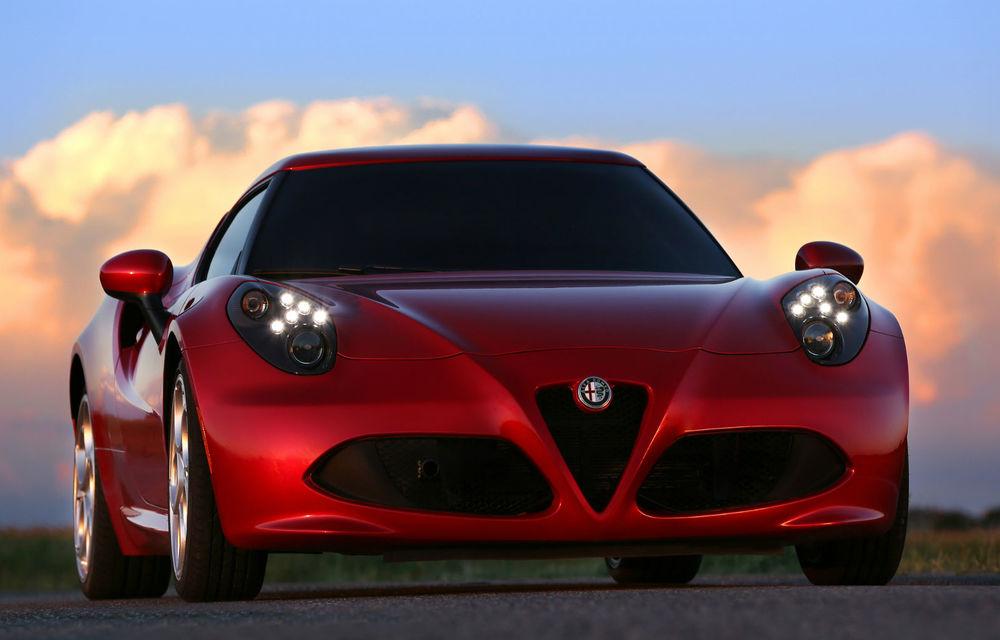 Alfa Romeo 6C: ipoteza unui rival al lui Porsche 911, bazat pe Maserati Alfieri - Poza 1