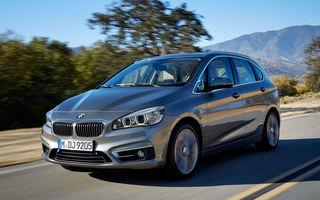 BMW se lasă inspirat de succesul Mercedes: va lansa şapte modele cu tracţiune faţă în următorii ani