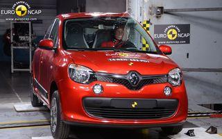 EuroNCAP face din nou victime: Renault Twingo şi Toyota Aygo primesc patru stele