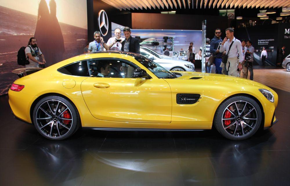 PARIS 2014 LIVE: Mercedes AMG GT, succesorul lui SLS AMG - Poza 12
