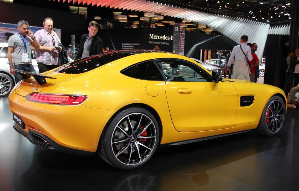 PARIS 2014 LIVE: Mercedes AMG GT, succesorul lui SLS AMG - Poza 3
