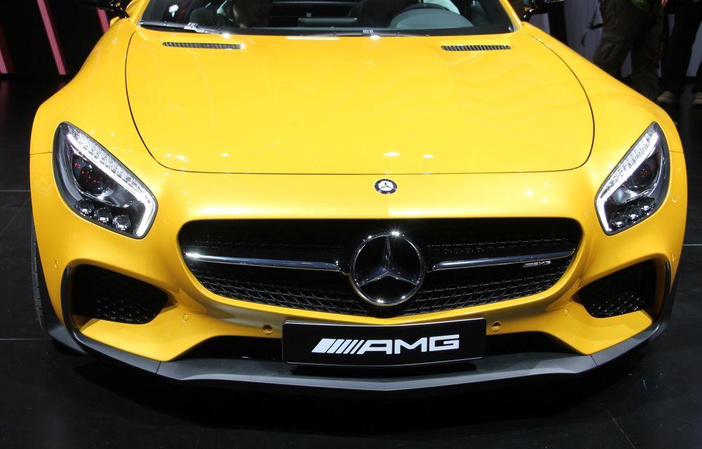 PARIS 2014 LIVE: Mercedes AMG GT, succesorul lui SLS AMG - Poza 11