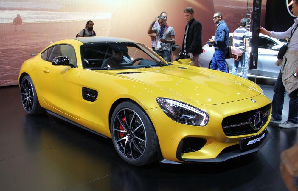 PARIS 2014 LIVE: Mercedes AMG GT, succesorul lui SLS AMG - Poza 1