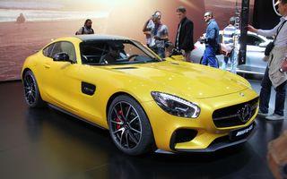 PARIS 2014 LIVE: Mercedes AMG GT, succesorul lui SLS AMG