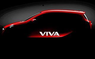 Opel Agila va primi un înlocuitor - primul teaser al viitorului MPV de oraş