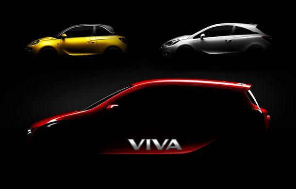 Opel Agila va primi un înlocuitor - primul teaser al viitorului MPV de oraş - Poza 2