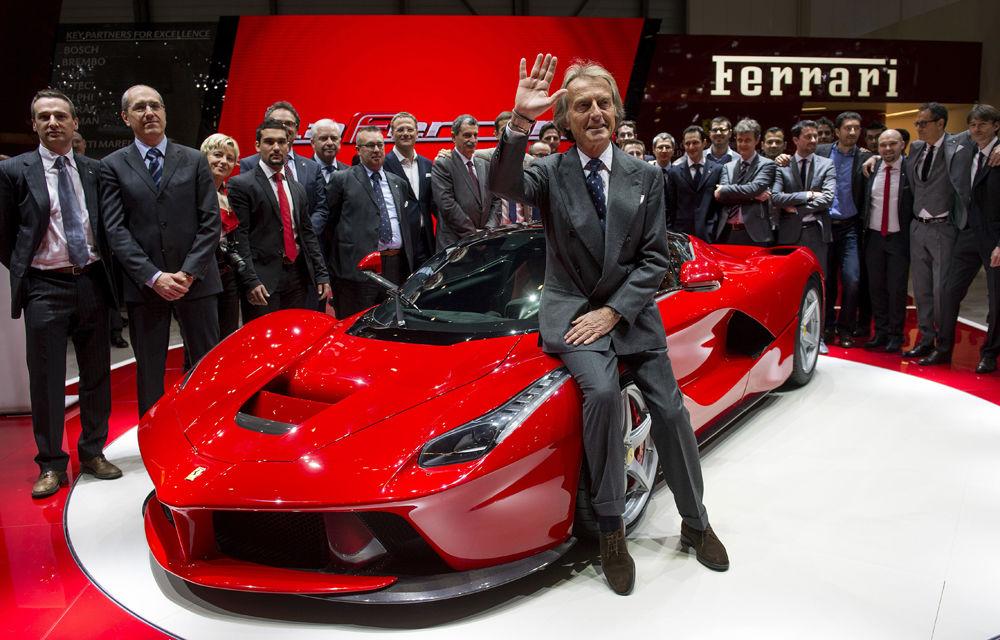 Luca di Montezemolo a părăsit Ferrari, dar trasează viitorul companiei: fără SUV-uri şi un singur Ferrari american - Poza 1