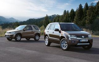 Suzuki va renunţa la producţia modelelor Grand Vitara şi Alto