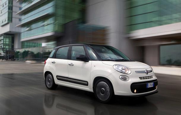 Fiat 500L: producţia crossoverului a fost oprită temporar din cauza vânzărilor slabe - Poza 1