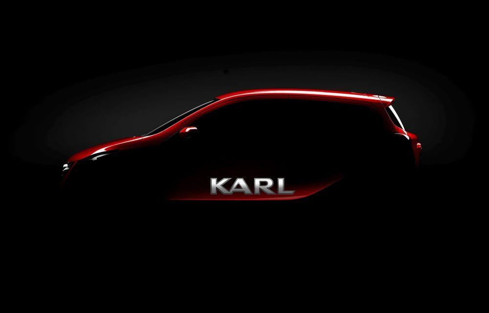 Opel Karl este confirmat oficial ca înlocuitor al lui Agila - Poza 1