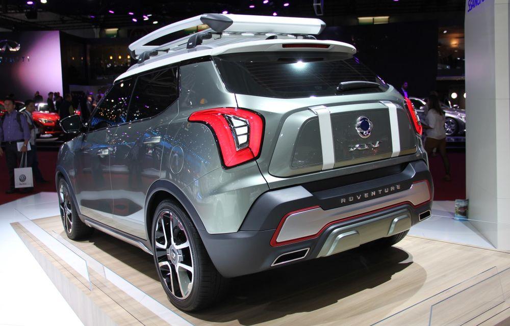 PARIS 2014 LIVE: Ssangyong XIV-Air şi XIV-Adventure, două concepte care pavează drumul pentru un viitor rival al lui Nissan Juke - Poza 3