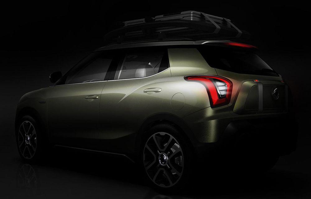 PARIS 2014 LIVE: Ssangyong XIV-Air şi XIV-Adventure, două concepte care pavează drumul pentru un viitor rival al lui Nissan Juke - Poza 15
