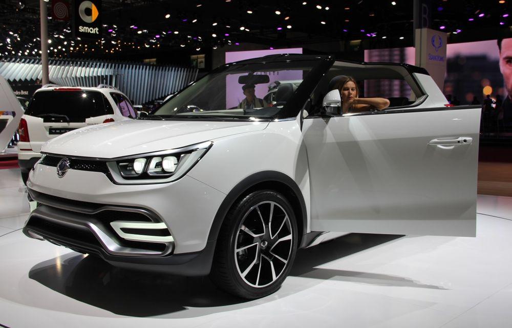 PARIS 2014 LIVE: Ssangyong XIV-Air şi XIV-Adventure, două concepte care pavează drumul pentru un viitor rival al lui Nissan Juke - Poza 10