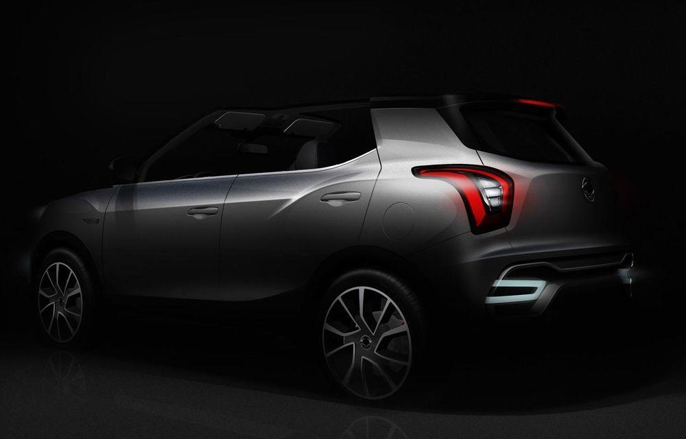 PARIS 2014 LIVE: Ssangyong XIV-Air şi XIV-Adventure, două concepte care pavează drumul pentru un viitor rival al lui Nissan Juke - Poza 13