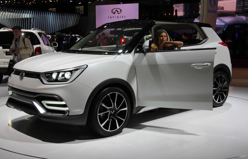 PARIS 2014 LIVE: Ssangyong XIV-Air şi XIV-Adventure, două concepte care pavează drumul pentru un viitor rival al lui Nissan Juke - Poza 11