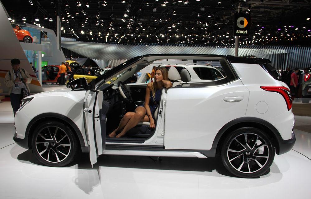 PARIS 2014 LIVE: Ssangyong XIV-Air şi XIV-Adventure, două concepte care pavează drumul pentru un viitor rival al lui Nissan Juke - Poza 12