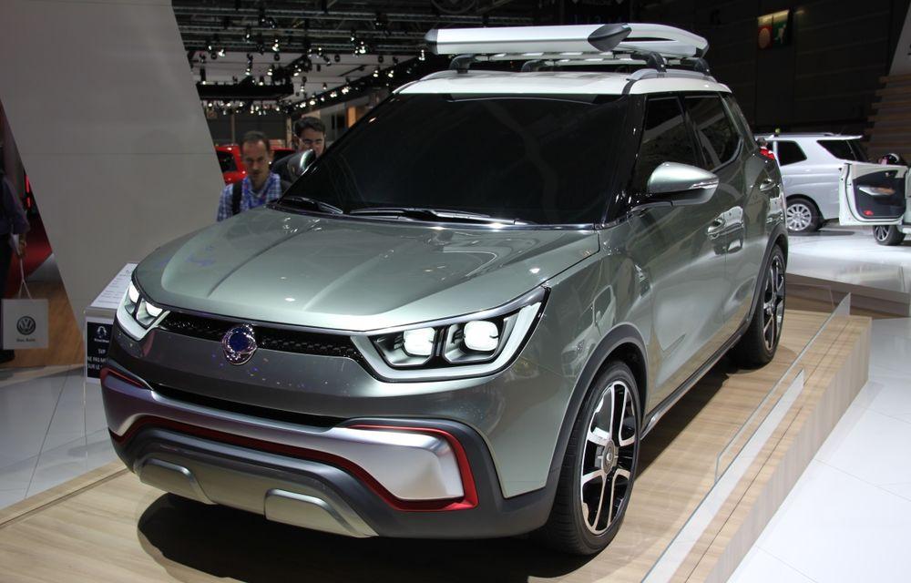 PARIS 2014 LIVE: Ssangyong XIV-Air şi XIV-Adventure, două concepte care pavează drumul pentru un viitor rival al lui Nissan Juke - Poza 2