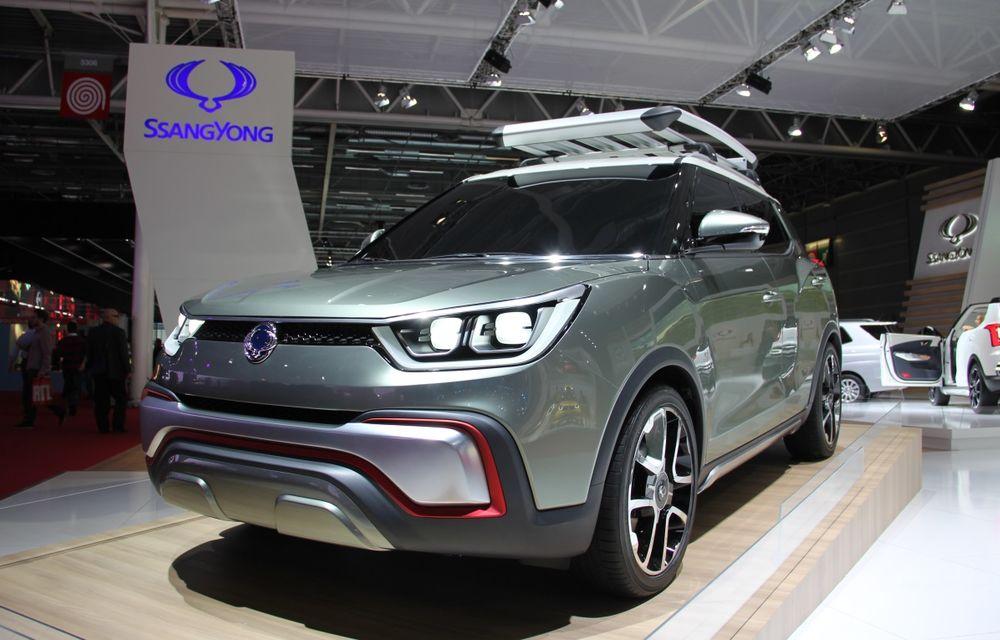 PARIS 2014 LIVE: Ssangyong XIV-Air şi XIV-Adventure, două concepte care pavează drumul pentru un viitor rival al lui Nissan Juke - Poza 1