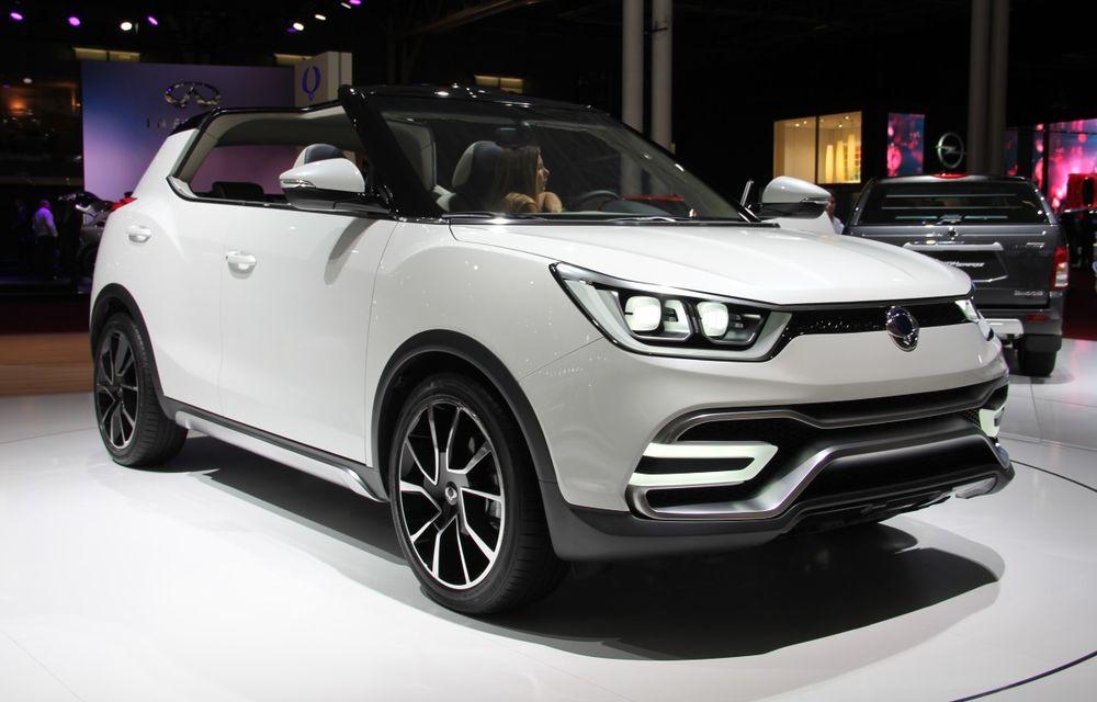PARIS 2014 LIVE: Ssangyong XIV-Air şi XIV-Adventure, două concepte care pavează drumul pentru un viitor rival al lui Nissan Juke - Poza 6