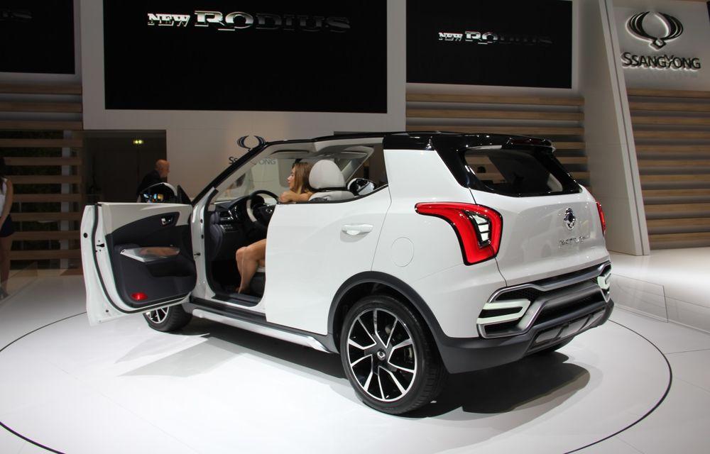 PARIS 2014 LIVE: Ssangyong XIV-Air şi XIV-Adventure, două concepte care pavează drumul pentru un viitor rival al lui Nissan Juke - Poza 8