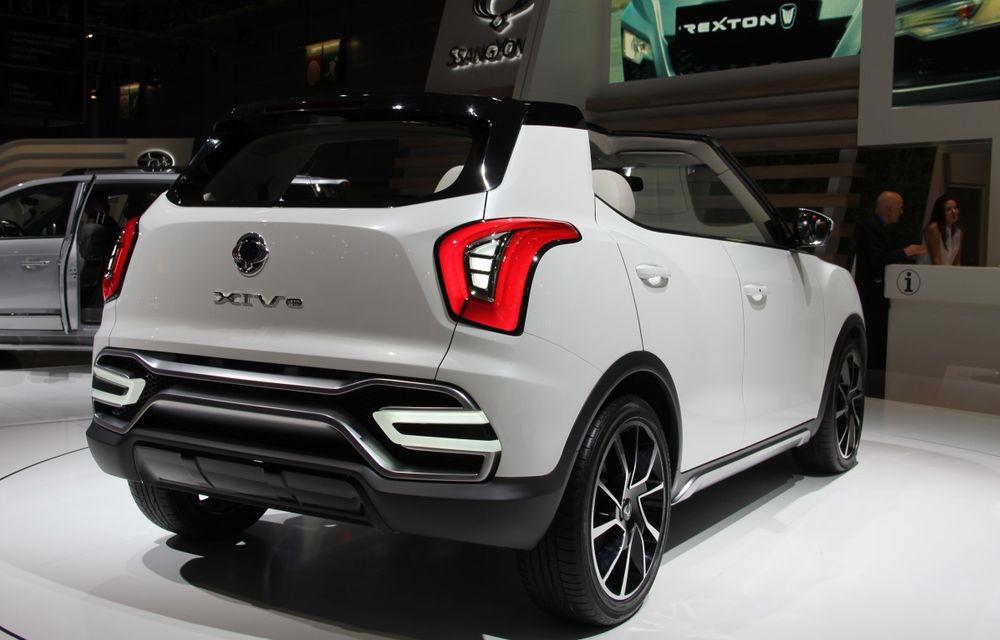 PARIS 2014 LIVE: Ssangyong XIV-Air şi XIV-Adventure, două concepte care pavează drumul pentru un viitor rival al lui Nissan Juke - Poza 7