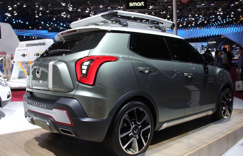 PARIS 2014 LIVE: Ssangyong XIV-Air şi XIV-Adventure, două concepte care pavează drumul pentru un viitor rival al lui Nissan Juke - Poza 5