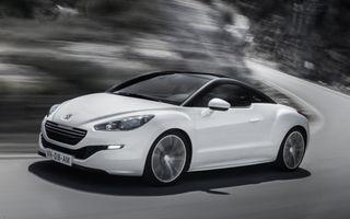 Peugeot va oferi versiuni sportive ale tuturor modelelor din gamă, dar RCZ ar putea fi eliminat în viitor