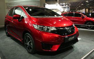 PARIS 2014 LIVE: Honda Jazz ajunge la a treia generaţie: platformă nouă, spaţiu mai mare, design familiar
